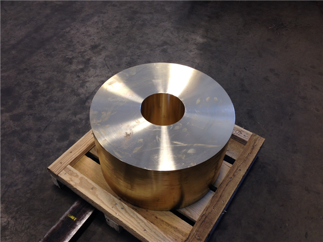 Bronze Part Ready for Machining